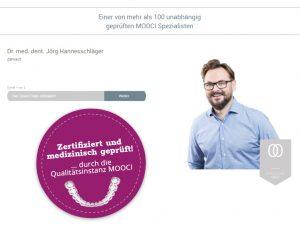 Zertifiziert durch die Qualitätsinstanz MOOCI