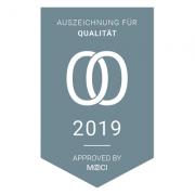 MOOCI Zertifikat für Auszeichnung für Qualität
